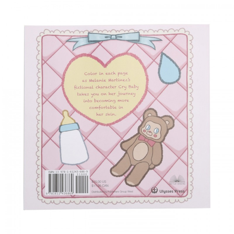 Cry Baby Coloring Book - Accessories